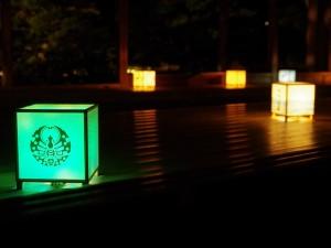 流店(りゅうてん)行燈照明