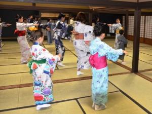 和文化体験「日本舞踊」