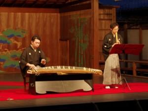 犀の会 琴と尺八演奏(ムーンライトステージ)