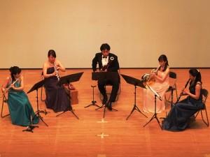 岡山フィルハーモニック管弦楽団 木管五重奏(ムーンライトステージ)