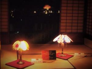 寒翠細郷軒の灯り