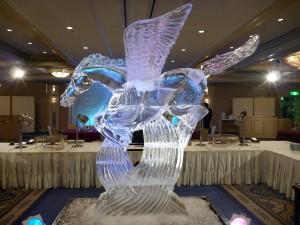 氷の彫刻アート(1日)