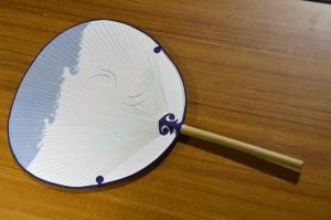 撫川(なつかわ)うちわ作り