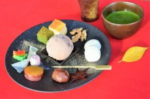 抹茶フォンデュ(福田茶屋)1,000