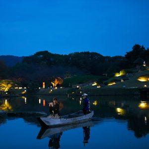 沢の池「幻想小舟演奏」